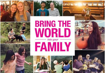 Bring the world into your family – host an exchange student