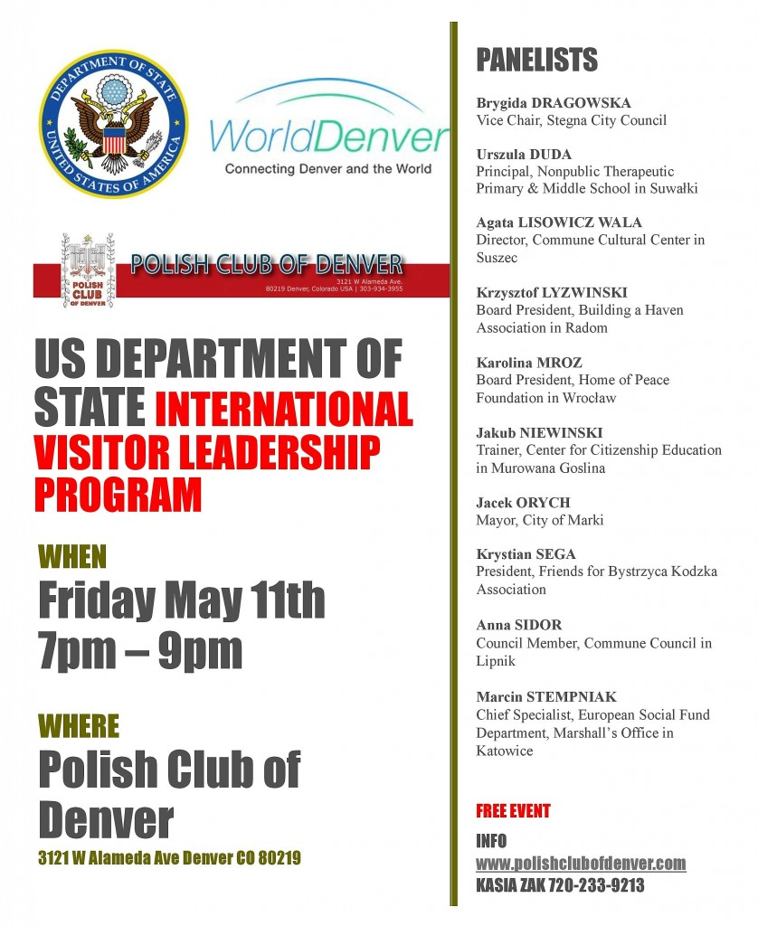 US DEPARTMENT OF STATE INTERNATIONAL VISITOR LEADERSHIP PROGRAM - English